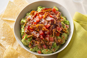 Bacon-Topped Guacamole