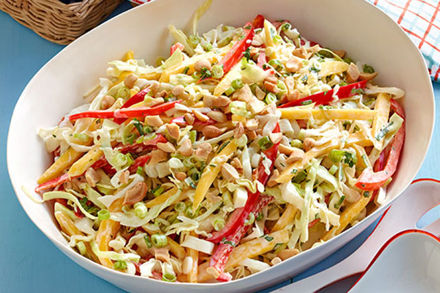 Tropical Mango Coleslaw