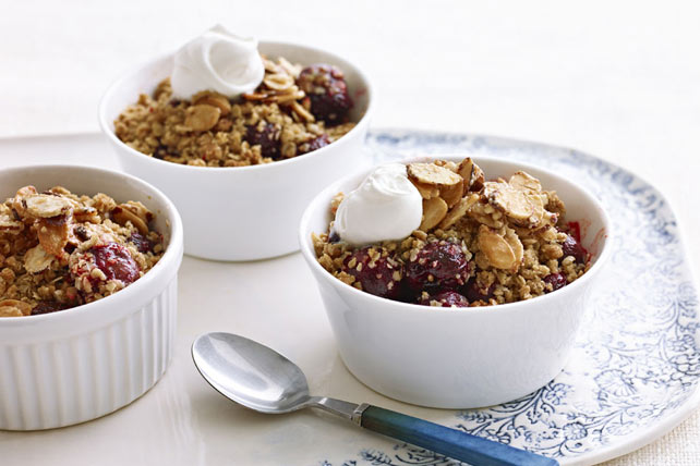 Sweet Cherry Crisp Image 1