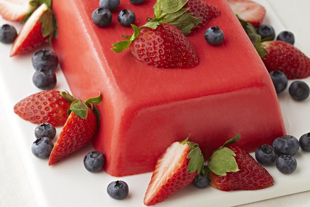 JELL-O Gelatin Berry Dessert Image 1