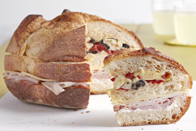 Antipasto Sub Club Sandwich Image 1
