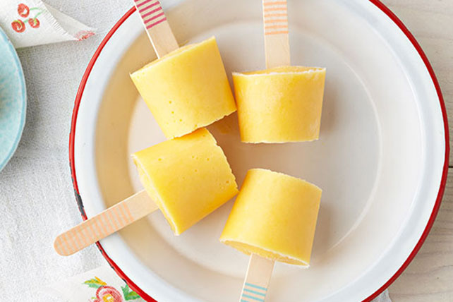 Peach-Yogurt Pops Image 1