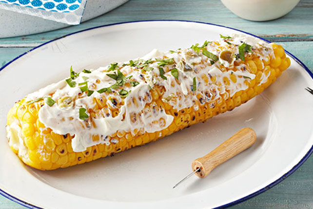 Creamy Jalapeño Corn on the Cob