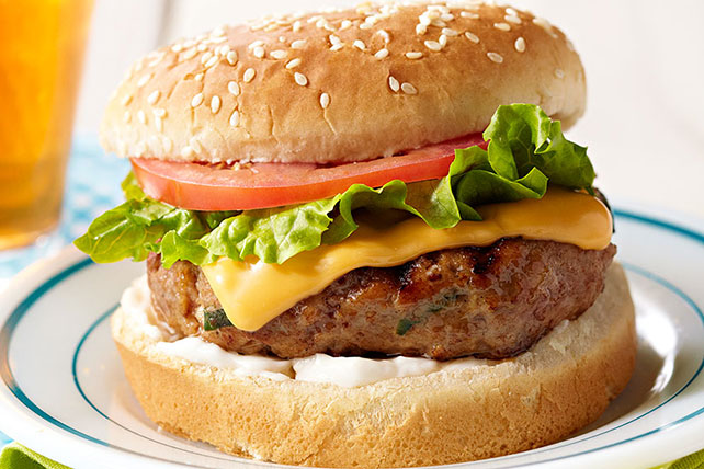 Chipotle-Turkey Cheeseburgers Image 1