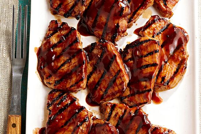 Medallones de cerdo con salsa de Jamaica Image 1