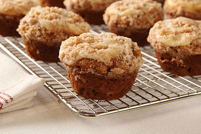 Pumpkin-Apple Streusel Muffins Image 1