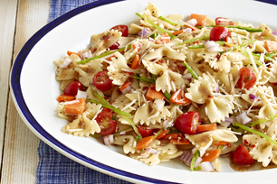Fresh Veggie Pasta Salad