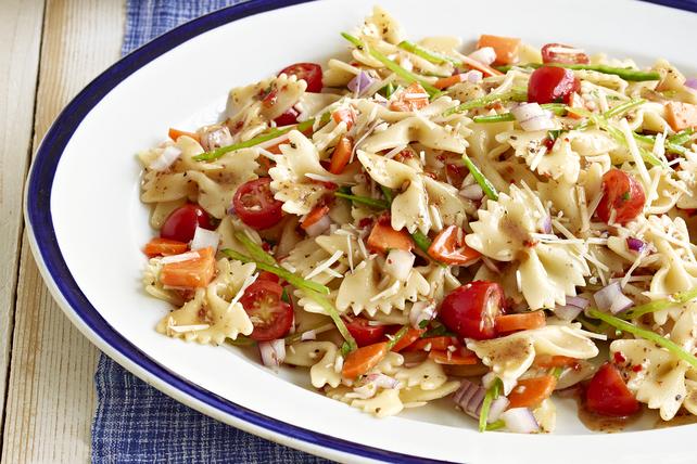 Fresh Veggie Pasta Salad Image 1