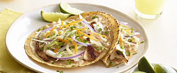 Mexicana Grilled Fish Tacos