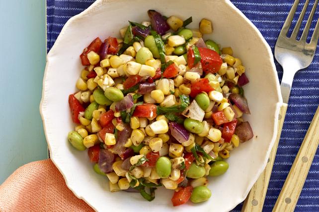 Grilled Corn & Edamame Salad Image 1