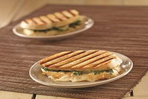 Spicy Kale & White Cheddar Panini