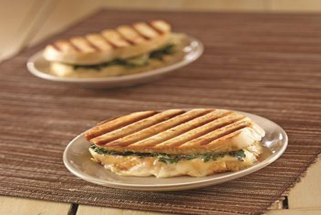 Spicy Kale & White Cheddar Panini Image 1