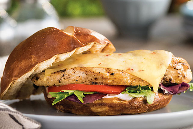 Sweet Heat Chicken Sandwich Recipe Image 1