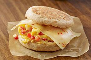 Pick-a-Pepper Morning Sandwich