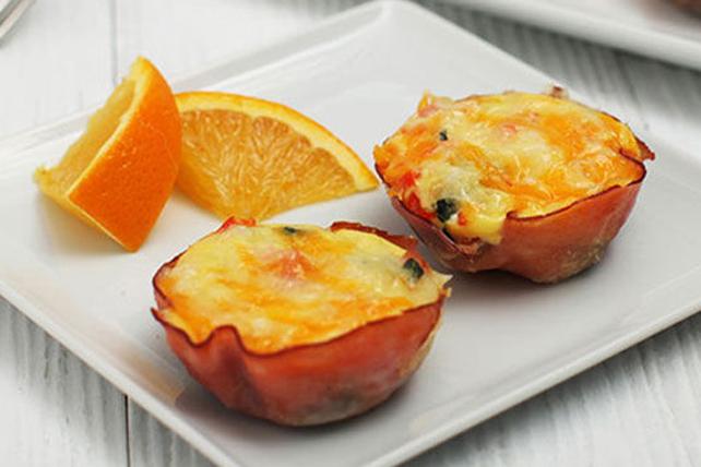 Mini-omelettes en coupes Image 1