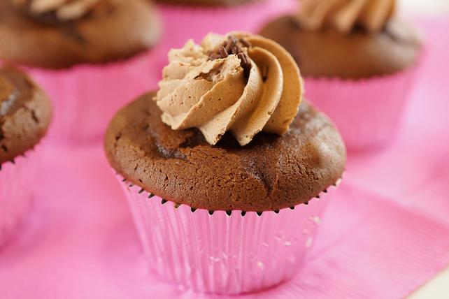 Petits gâteaux double chocolat au beurre d'arachide Image 1