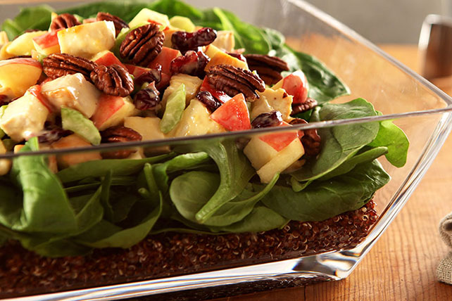 Layered Quinoa Power Salad