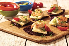 Lime-Marinated Shrimp & Cheddar Appetizers