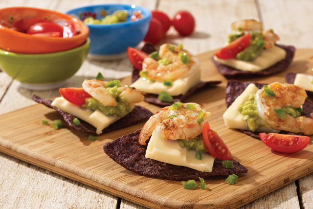 Lime-Marinated Shrimp & Cheddar Appetizers Image 1