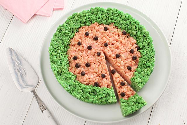 Watermelon Crispy Treats Image 1