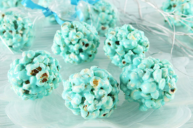 Easy Blue Marshmallow Snowballs Image 1