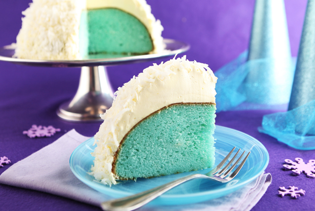 Coconut Snowball Cake