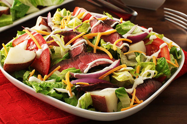 Steak & Potato Salad Image 1