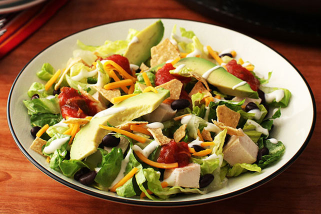 Southwest Chicken & Ranch Salad Image 1