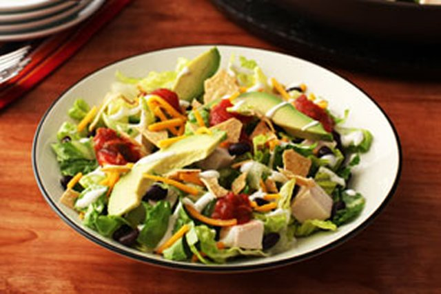 Southwest Chicken and Ranch Salad