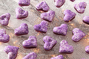 Heart-Shaped Marshmallow Gummies