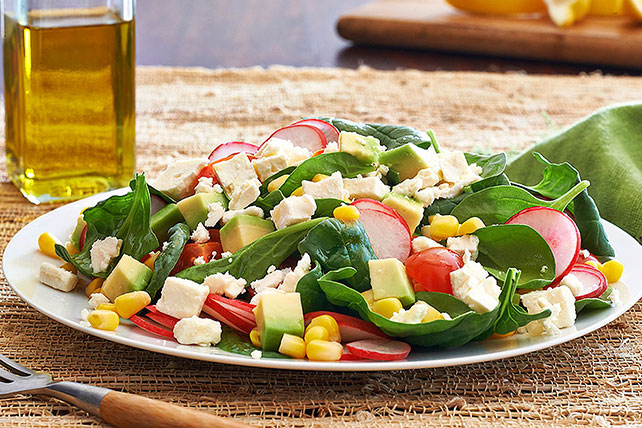 Field-Fresh Feta Salad