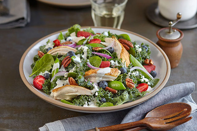 Kale-Berry Ranch Salad