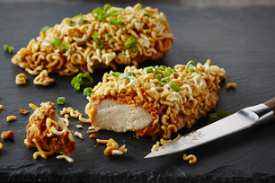 Crispy Spicy Peanut Chicken