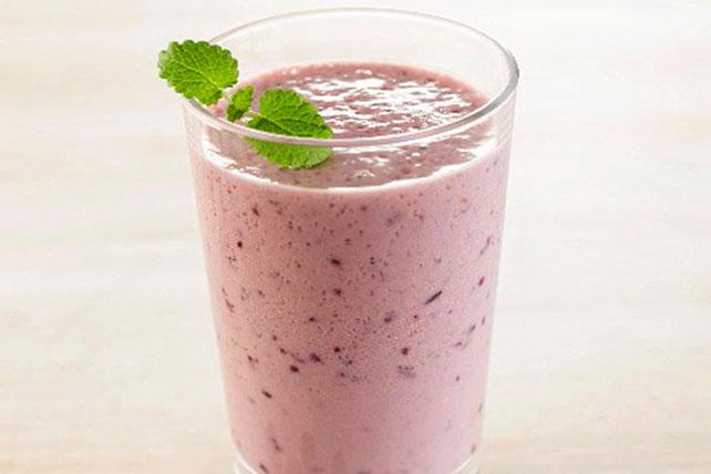 Blueberry-Banana Pudding Smoothie Image 1