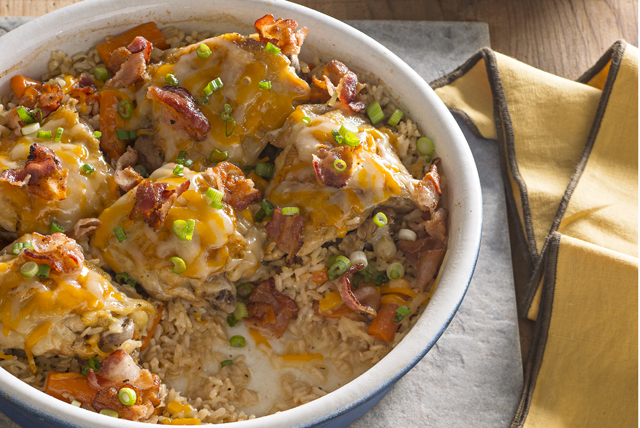 Brown Rice & Chicken Bake Image 1
