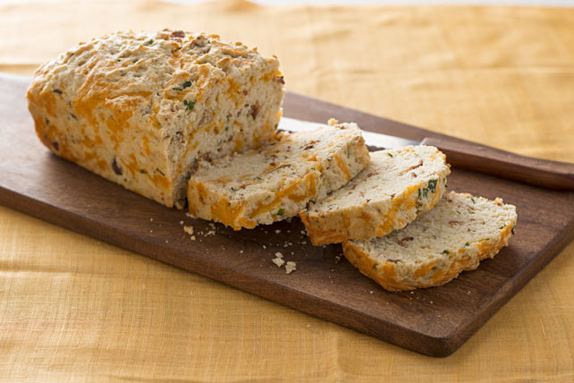 Buttermilk Cheddar-Bacon Bread Image 1