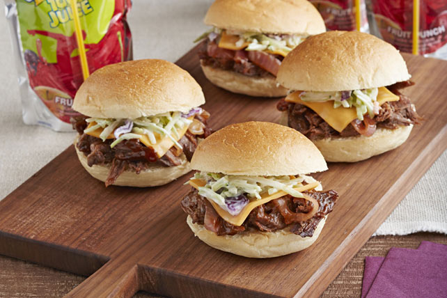 Slow-Cooker Short Rib Mini Sandwiches