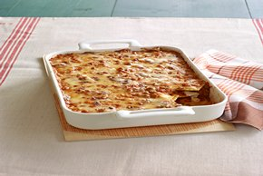 Easy Ravioli Lasagna Bake