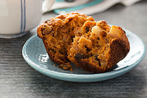 Hearty Fruit & Nut Muffins