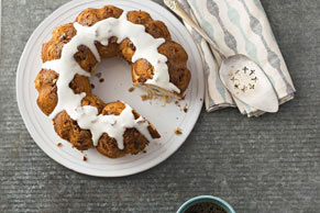 Butterscotch-Pecan Coffee Cake