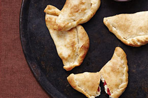 Cheese & Roasted Pepper Calzones