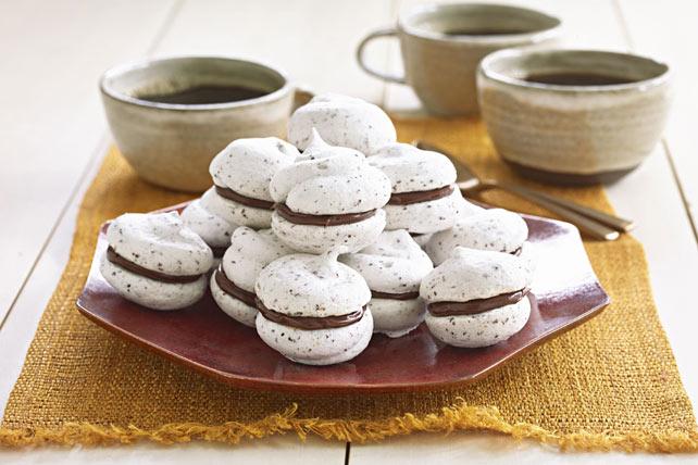 Peanut Butter-Chocolate Meringue Cookies Image 1