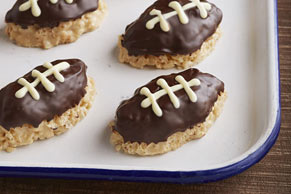 Crispy Football Treats