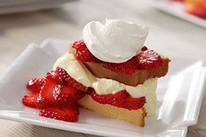 Strawberry-Lemon Shortcake
