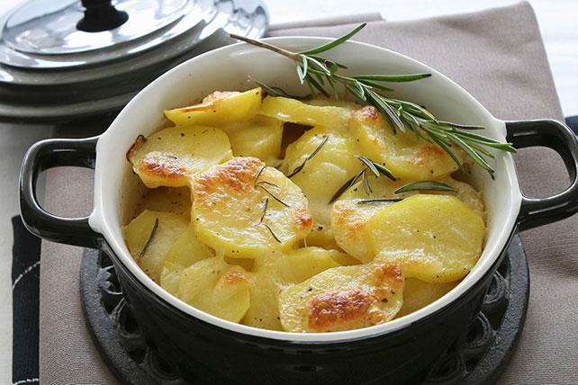 Potato Bake with Mozzarella and Rosemary Image 1