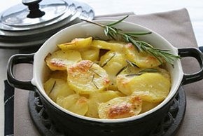 Potato Bake with Mozzarella and Rosemary Image 2