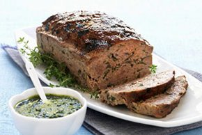 Meatloaf with Herb Sauce Image 2