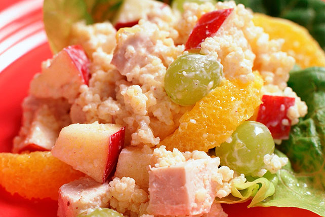 Couscous Salad with Chicken & Fruit Image 1