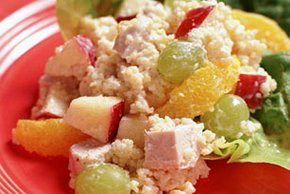 Couscous Salad with Chicken & Fruit Image 2