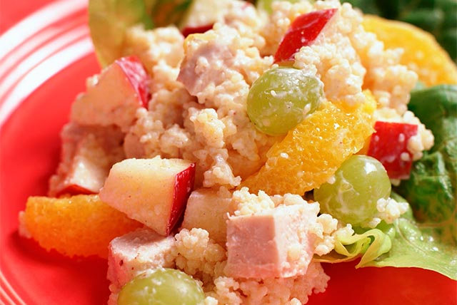 Couscous Salad with Chicken and Fruit Image 1